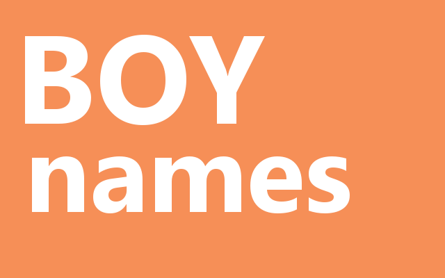Baby Name Meanings
